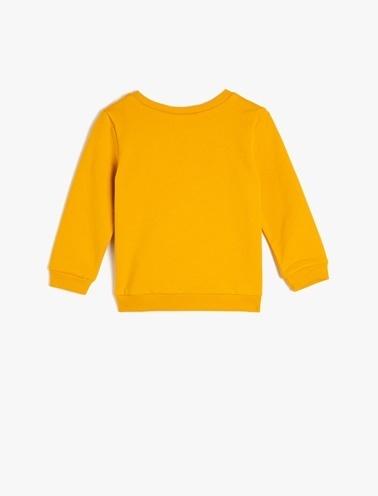 Koton Kids Sweatshirt Sarı